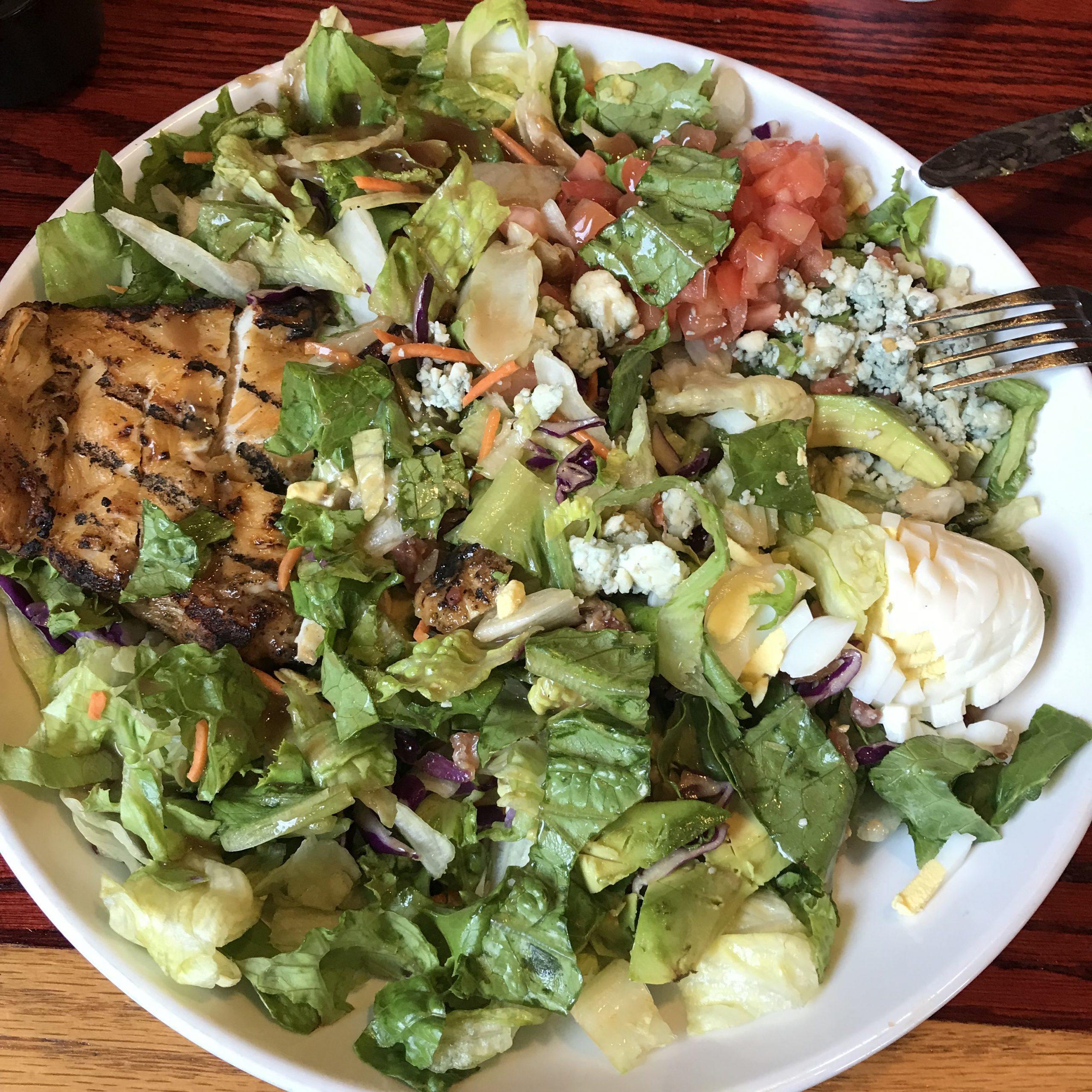 salad alternative to burger
